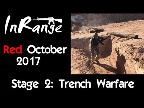 Rifle Dynamics' Red October AK 2017 - Stage 2: Trench Warfare!