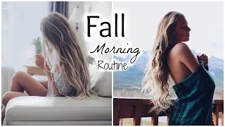 Get Ready With Me // Fall Morning