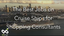 Jobs on Cruise Ships-Shopping Consultant