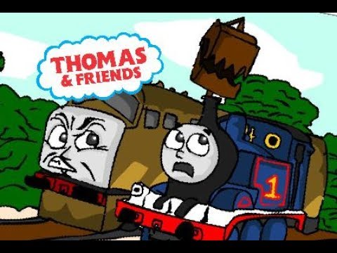 Thomas & the Magic Railroad  Diesel 10 ESCAPES the Sheds!!  Cartoon REMAKE Director's Cut