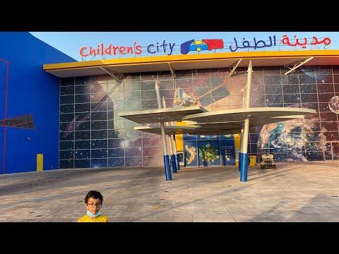 Children's City || Creek park Dubai||