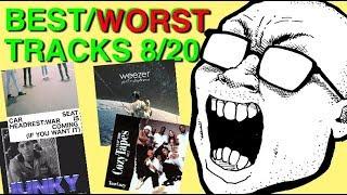 Best & Worst Tracks: 8/20 (Converge, Rich Chigga, Chris Brown, A$AP Mob, Weezer, LCD Soundsystem)