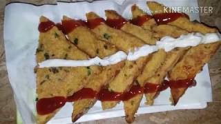 Bread pakora Easy cooking with as