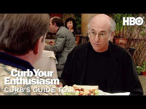 Social Etiquette w Larry David  Curb Your Enthusiasm 2017  HBO