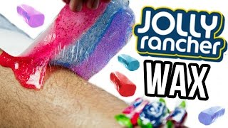 Beauty Busters: Poop or Woop? JOLLY RANCHER WAX!
