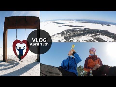 Vlog: Winter Adventure in Luleå, Sweden