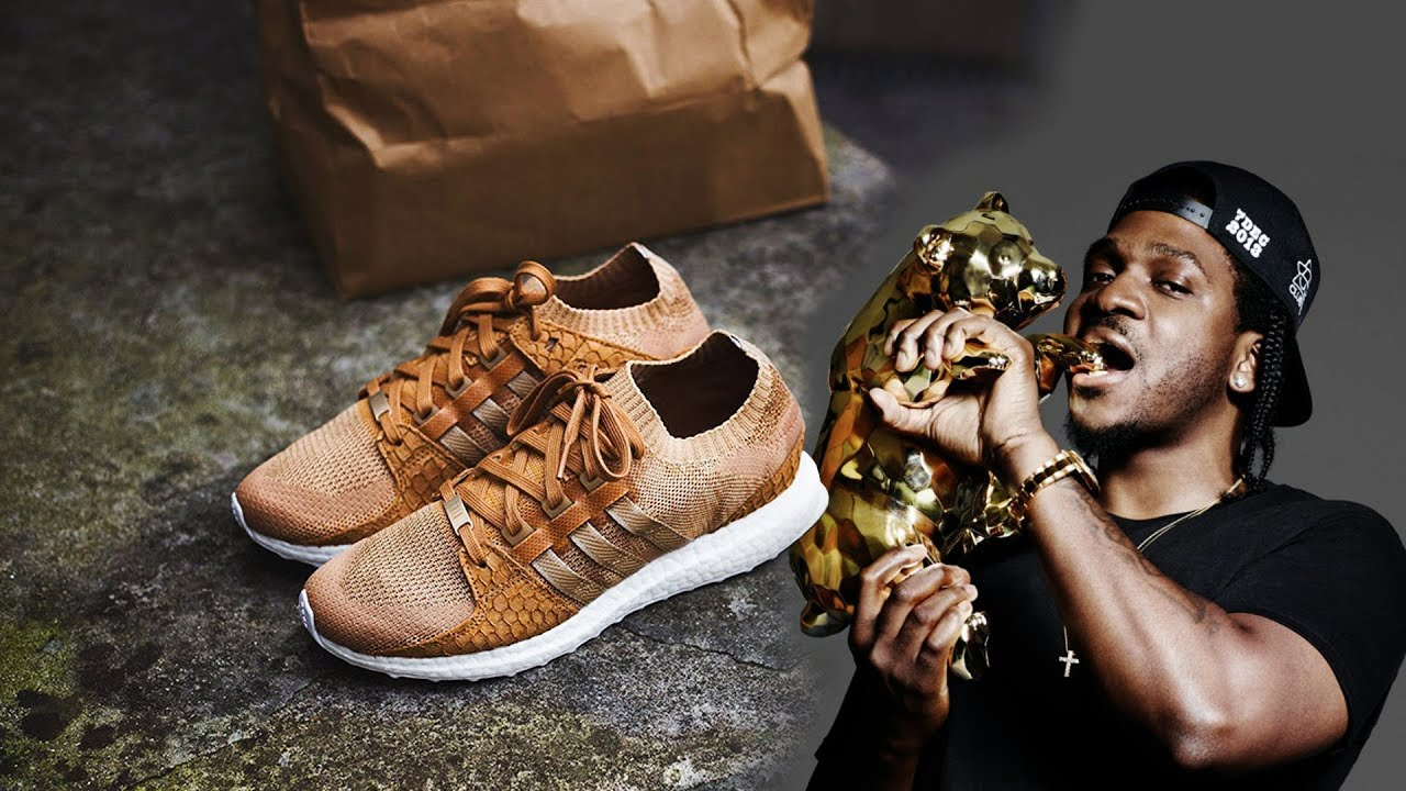 big sale 0923e dc60d PUSHA TS NEXT ADIDAS EQT COLLABORATION INSPIRED BY BROWN PAPER BAGS