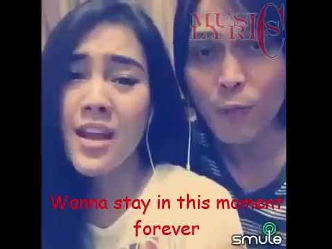 I Wanna Take Forever Tonight - Once Mekel & Ima Angelica LYRICS (SMULE)