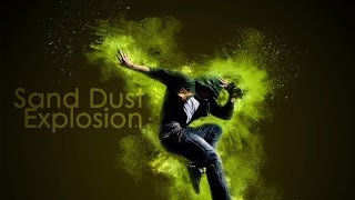 Stunning Sand Dust Explosion Animation in Photoshop CS6 Extended