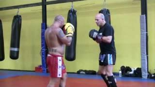 Dave Breed & Ramon Dekkers Golden Glory Training footage