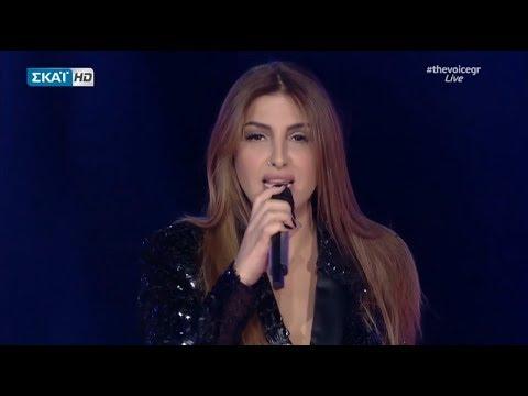 Έλενα Παπαρίζου - Αν Με Δεις Να Κλαίω (Live @ The Voice of Greece)