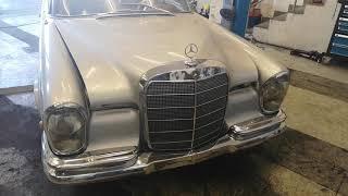 Mercedes  220SE (podejście z należytym szacunkiem)
