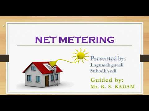 Net Metering for Solar Power (ppt) (IN HINDI)