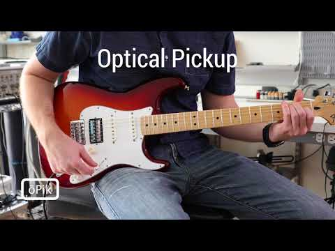 oPik - Nylon strings on an electric guitar demo
