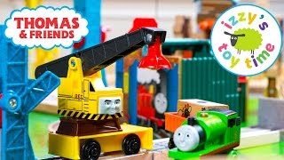 Thomas and Friends | Thomas Train Scap Yard Crane Track with Imaginarium  Brio | Toy Trains for Kids
