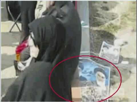 Inside view from Islamic Regimes 31th anniversary spectacle - Iran Tehran Azadi square 11 Feb 2010