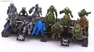 Mega Bloks Halo Outlands Skirmish figure pack review!