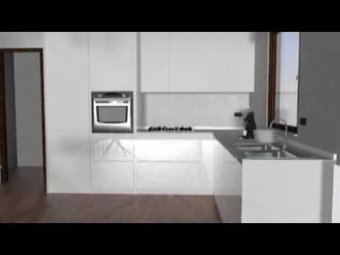 Cucina Orange Snaidero - YouTube