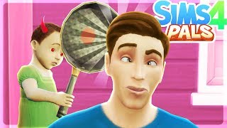 THE BABY IS EVIL!! - Sims 4 Pals