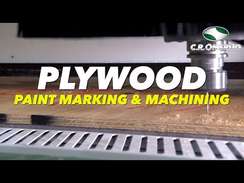 AUTOMATED PLYWOOD MARKING, SAWING, & MACHINING - C.R. Onsrud M-Series CNC Automation Cell