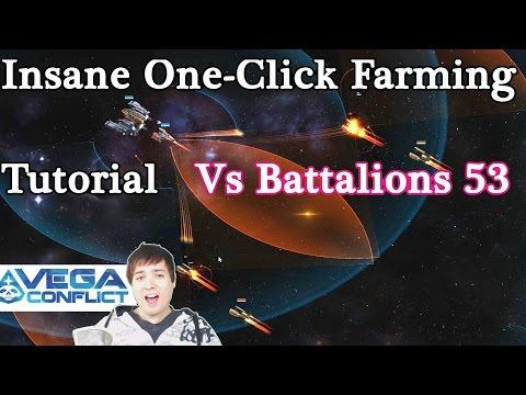 VEGA Conflict Insane One-Click Farming Battalion 53 Supply Run