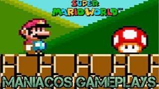 🔴Maniacos Gameplays-Super Mario World em uma live???(NORMAL 96 EXITS) (!loots)