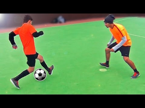 Learn These Amazing 1on1 Football Skills in 5 Minutes! - Tutorial