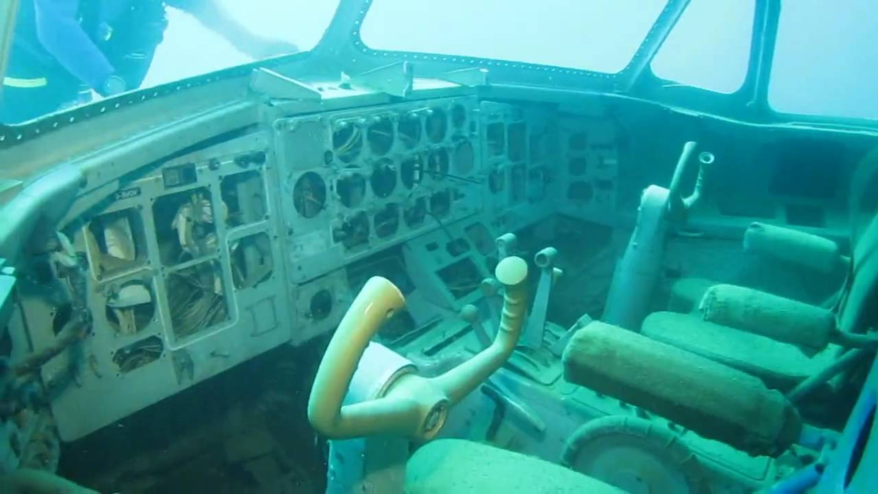 diving in capernwray on the new plane wreck and with the sturgeon