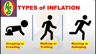 IE-12 I Economy I Types of Inflation I Creeping, Walking, Galloping & Hyper Inflation by Rohit Singh
