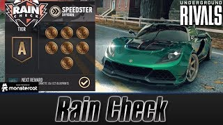 Need For Speed No Limits: Underground Rivals | Rain Check | Speedster Division | S Tier