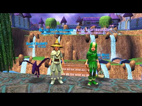 STRUGGLING AT TRITON AVENUE! - Wizard101 Death Walkthrough Ep 3