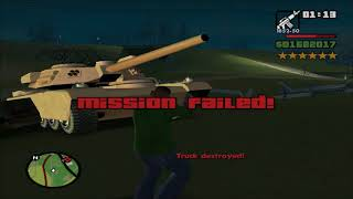 GTA: San Andreas - 6 star wanted level playthrough - Part 107