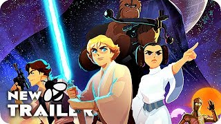 STAR WARS GALAXY OF ADVENTURES Trailer (2018) Star Wars Short Movies