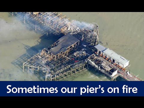 Sometimes Our Pier's On Fire - A tribute to Southend On Sea