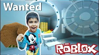 Bank Robbery In Wanted By #Roblox