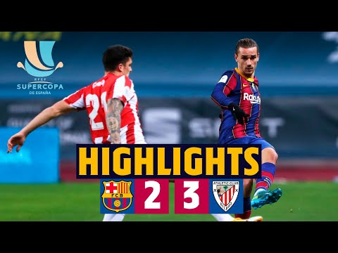 Barcelona Ath. Bilbao Goals And Highlights