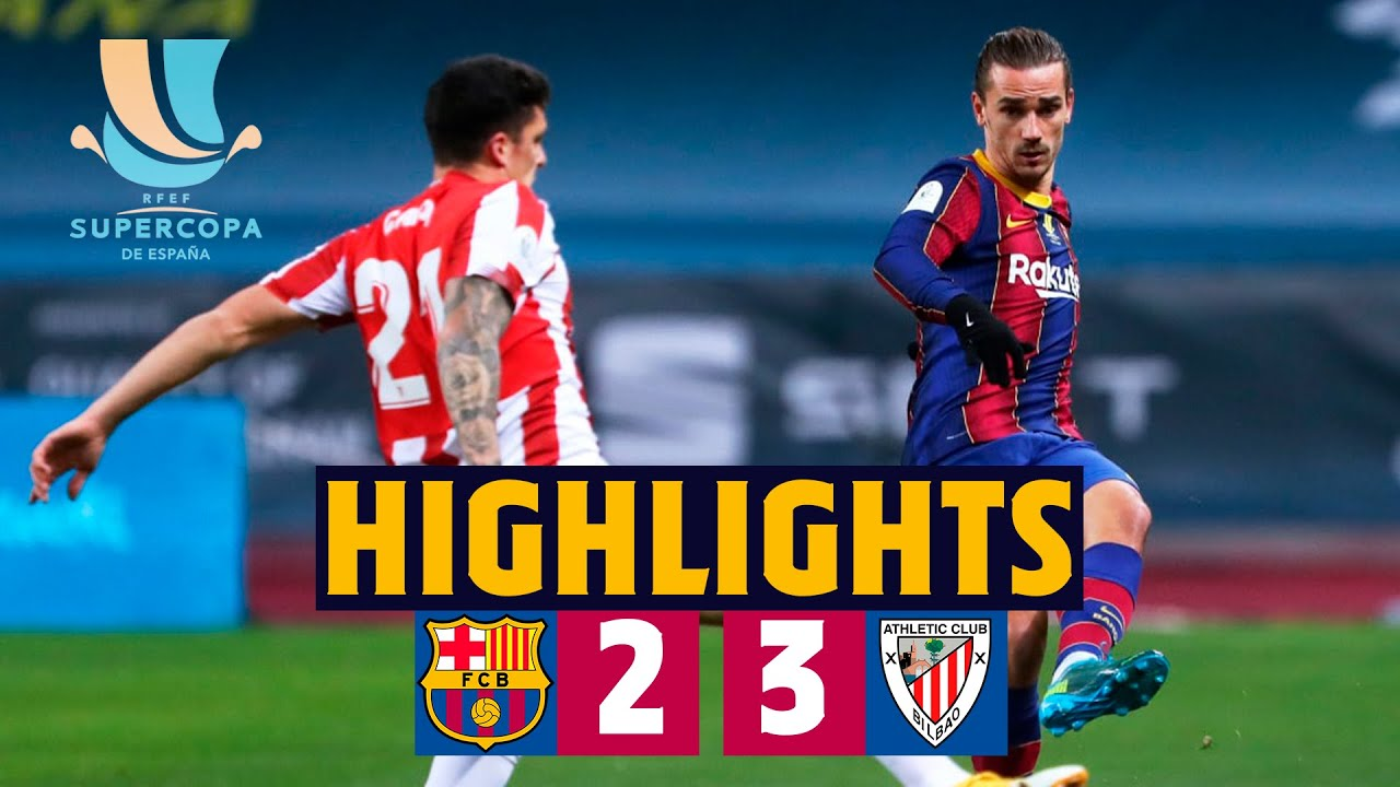 Download HIGHLIGHTS | Barça 2-3 Athletic Club | Spanish Super Cup Final