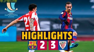 HIGHLIGHTS | Barça 2-3 Athletic Club | Spanish Super Cup Final