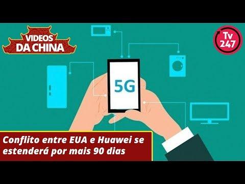 Conflito entre EUA e Huawei se estenderá por mais 90 dias