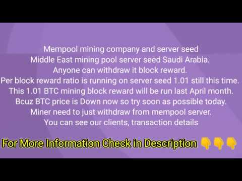 cryptocurrency mining mempool