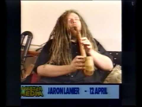 Jaron Lanier music and Virtual Reality, in studio, 1997