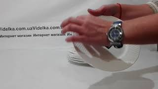 Набор тарелок десертных WL-880100-JV/6C   - ОБЗОР