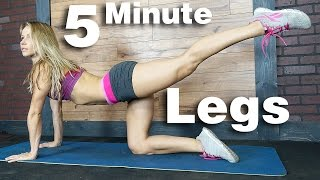 5 Minute Workout #41 - Legs