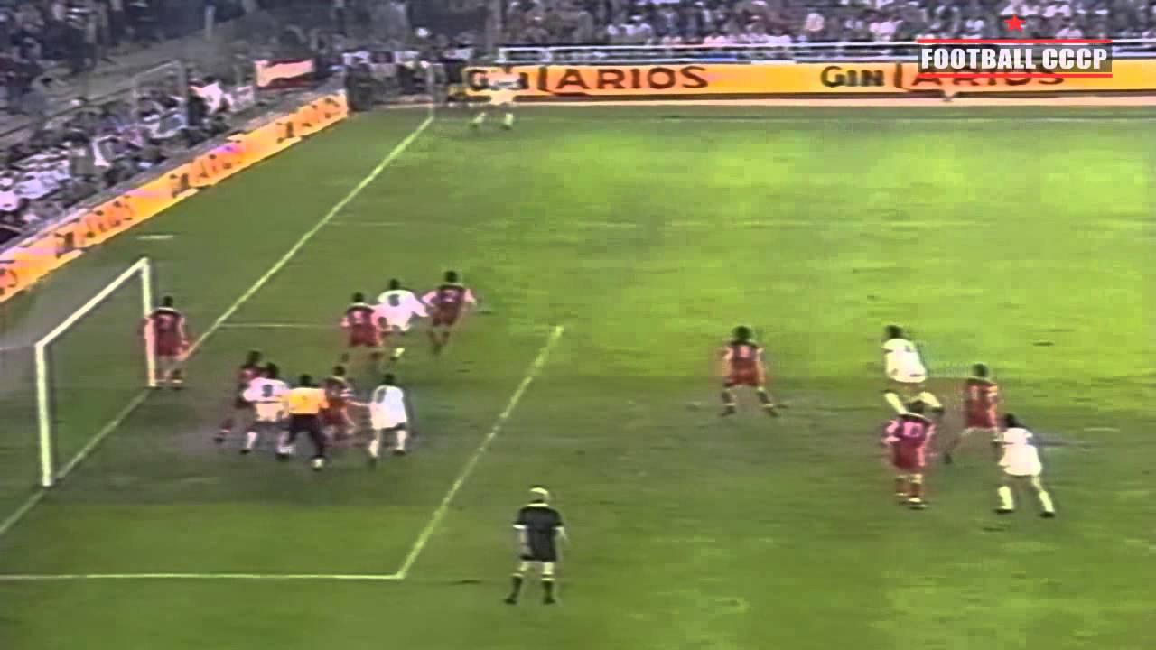 Реал мадрид спартак москва 1991 смотреть онлайн