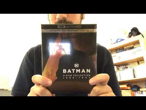 Batman 4-Film Collection 1989-1997 4K Ultra HD Blu-Ray Unboxing