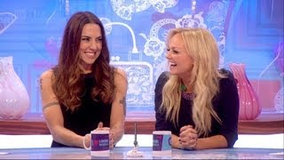 Melanie and Emma appeared on Loose Women to promote the release of ...