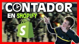Cómo Poner Un Contador En Shopify