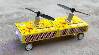 how to Make a Powerful Mini Matchbox Toy Car at Home  - Mini Car