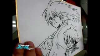 NURA: Hiroshi Shiibashi OFFICIAL Creator Sketch Video by SHONEN JUMP Alpha