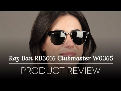Ray-Ban RB3016 Clubmaster W0365 Sunglasses Review